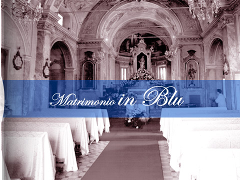 Addobbi per Matrimoni In Blu