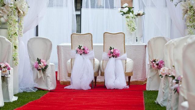 347bbaa02621 Portale ingresso per Matrimoni in rosso ...